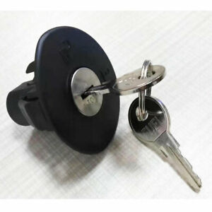 NEW Fit For FORD Locking Gas Fuel Tank Plug Cover Cap with 2 Keys 8U5Z9C268B OEM