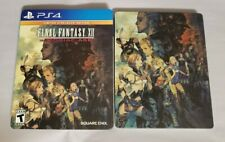 New listing Steelbook Only Final Fantasy Xii: The Zodiac Age Limited Slipcover Ff 12 No Game