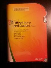 Microsoft Office 2007 Home and Student / Vollversion / deutsch / Retailbox