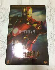 Hot Toys 1/6 Iron Man 2 Mark 4 Mk Iv Mms123 Japan