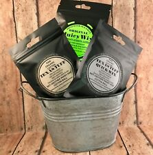TexasTuff,JuicyWix,QuickWix Mixed 3 Pack, Premium Organic Cotton,Texas Tuff