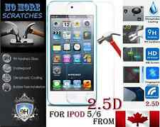 2.5D 9H Premium REAL Tempered Glass Apple ipod 5 6 5th 6th Screen Protector NEW