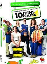 10 Items Or Less ---- Season 1 & 2 ----- 2 DVD ---- OVP