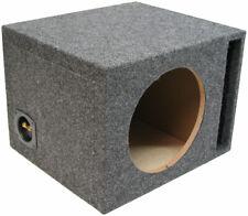 "Car Audio Single 15"" Vented Subwoofer Stereo Sub Box Ported Enclosure Custom mdf"