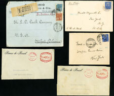 Latin America Stamp Collection of 49 Commercial and Flight Covers
