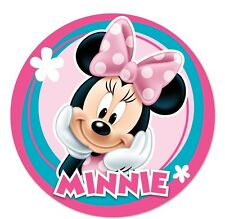 Minnie Mouse Edible Birthday Cake Icing Sheet Topper Decoration Round Images