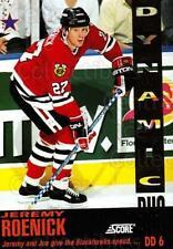 1993-94 Score Dynamic Duos American #6 Jeremy Roenick, Joe Murphy