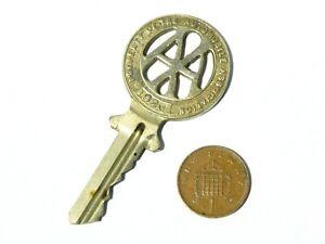 1920 AA Automobile Association Member's Phone Box Roadside Key H&TV