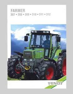 FENDT Farmer 307 308 309 310 311 312 Schlepper Original 1996