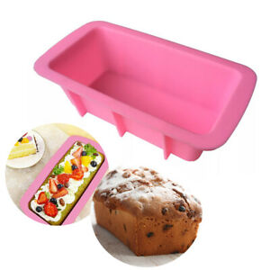 NEW Silicone Non-Stick Toast Bread Mould Cake Baking Mold Loaf Tin Bakeware Pan