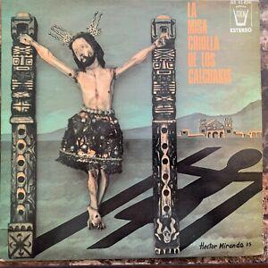 LOS CALCHAKIS -LA MISA CRIOLLA- 1976 MEXICAN LP FOLK RELIGIOUS