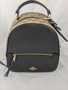 Coach Jordyn Backpack Black/Sig