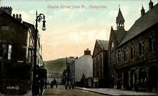Llangollen. Castle Street from North # 52368 by Valentine's.