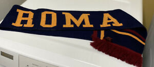 """AS Roma Soccer Scarf Football Fan Scarf - From Italy 7"""" X 60"""""""