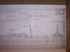 RMS QUEEN ELIZABETH  ship  plans