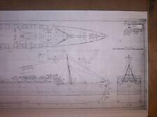 RMS QUEEN ELIZABETH  ship  plans