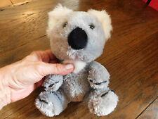 "Htf Build A Bear Smallfrys Small Frys Mini Koala Bab Plush 7"" Gray White Euc"
