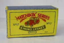 Repro Box Matchbox 1:75 Nr.17 Austin taxi Cab