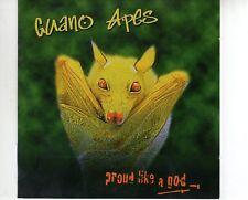 CD GUANO APESproud like a god + BONUS CD LIVE2CD EX (A2737)