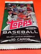 2014 Topps Mini-Card Baseball Sealed Pack Jose Abreu Tanaka RC? Relic/Auto?