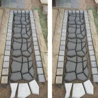 For DIY Path Floor Mould Reusable Path Maker Lawn Garden Paving Concrete Mold