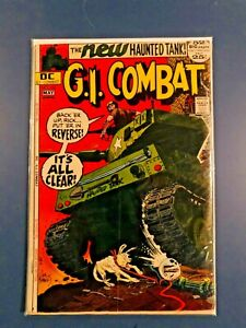 G.I. Combat #153 1st Appearance of the Haunted Tank 1953 ed awesome!