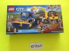 LEGO City 60152 Sweeper & Excavator Construction Site Set - Brand New Sealed