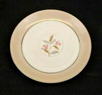 Noritake China Sheridan Saucer Vintage 1953-1958 Rose Platinum