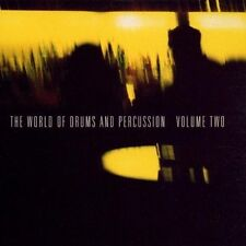 World of drums and percussion 2 (1999) Trilok Gurtu, Charlie Mariano, ed uomo, D