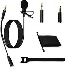 Ownuzz 3.5mm Lavalier Lapel Microphone Kit, Omnidirectional Mic for Iphone