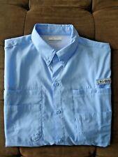 New Men's Columbia Pfg Bonehead Vented Fishing Shirt Short Sleeve Large