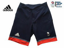 "ADIDAS TEAM GB - RIO OLYMPICS - NIGHT INDIGO CLIMACHILL BARRICADE SHORTS - 28"" S"