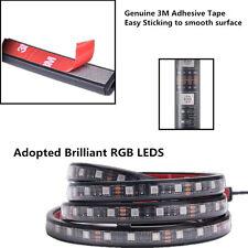 2X RGB LED Car Truck Bed Light Strip Waterproof Neon Glow Lamp Remote Control