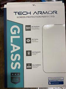 "Tech Armor Ballistic Glass Screen Protector For Samsung Galaxy Tab S4 9.7"""