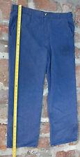 Authentic California State Prison denim jeans pants 40W 38W 31L prisoner uniform
