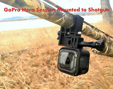 GoPro Session 5 Hero 5 Shotgun Mount Works with Rifles & Scopes. Fits all GoPros