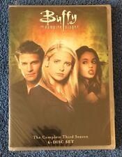 Buffy the Vampire Slayer - Season 3 (DVD, 6-Disc Set, FS) NEW, Damaged Plastic