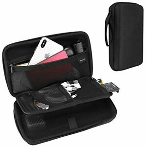 ProCase Electronics Hard Travel Case, Shockproof Durable Travel Carrying Case Or