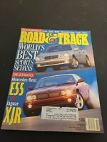 Road & Track Magazine February 1999- Audi A4, BMW 328i, Mercedes-Benz C280