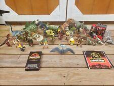 Vintage Jurassic Park World Toy Dinosaur figures Kenner, Hasbro, Mattel Lot 30+