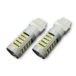 2x 66SMD LED Reverse Light Bulbs for Jeep 6000K Xenon White 1000lm Super Bright