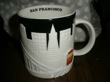 Starbucks Collector Series San Francisco City Relief Embossed Mug 2012 Skyline