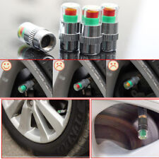 4Pcs Car Auto Tire Monitor Valve Dust Cap Pressure Indicator Sensor Eye Alert