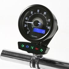 Daytona VELONA Digital Speedo y unidad de luz de advertencia/idiota Combi Soporte Negro