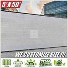 ColourTree 5' X 50' Grey Fence Privacy Screen Windscreen Cover Fabric Shade Tarp