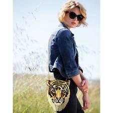 Mary Frances Rajah Lion Tiger Cat Gold Jasmine Bag Disney Aladdin Handbag NEW
