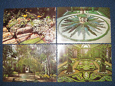 7 Somerville New Jersey The Duke Gardens vintage Continental Postcards Lot