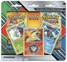 Pokemon TCG: 2-Pack Blister: Meganium, Typhlosion, and Feraligatr Cards + 2 Boos