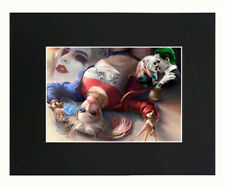 Harley Quinn, Joker, Suicide Squad Sexy Art Print Picture 8x10 Matted Poster