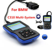 C310 OBD2 Multi System Scanner Engine Fault Code Reader For BMW Diagnostic Tool